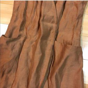 83f772da1cf Mango Dresses - Mango Premium Linen Blend Wrap Dress